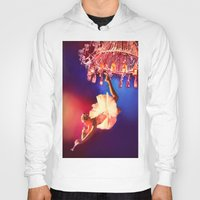 chandelier Hoodies featuring Lady Chandelier by Ginger Del Rey
