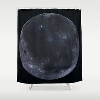 titan Shower Curtains featuring Titan #2 by Tobias Bowman