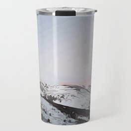 beautiful sunrise in Andorra ... Travel Mug