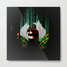 I Promise To Protect You Metal Print