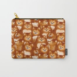 A Bunch of Pomeranians Pattern Carry-All Pouch