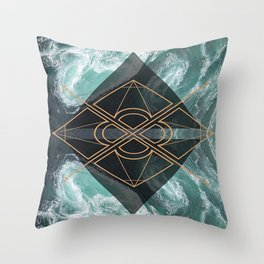 So Dramatic Throw Pillow