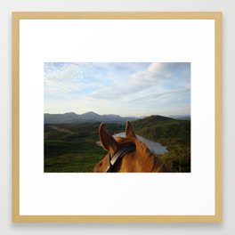 A piece of Heaven Framed Art Print