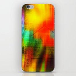 Spectrum Orange iPhone Skin