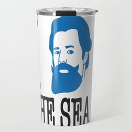 I __ The Sea Travel Mug