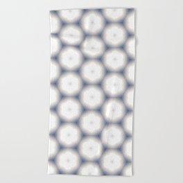 Sakura Hex by Friztin Beach Towel