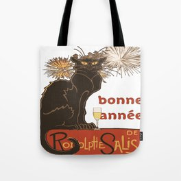 Bonne Annee Happy New Year Parody Tote Bag