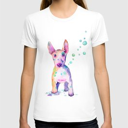 Terrier Bubbles T-shirt