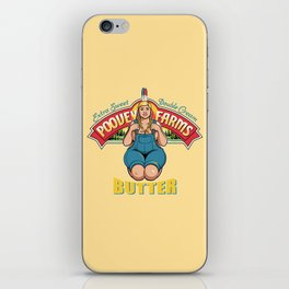 Poovey Farms iPhone Skin