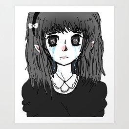 for the sake of heartbreak  Art Print