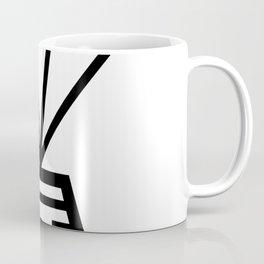 Parachuting Pod Icon Coffee Mug