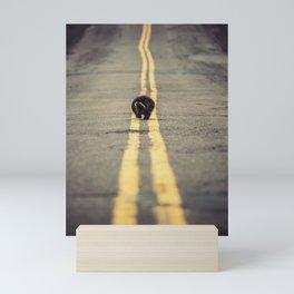 Walk the Line Mini Art Print