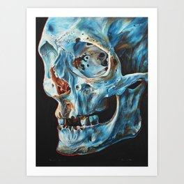 Skull II. Art Print
