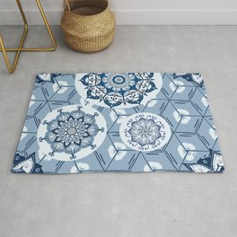 Moroccanblue Rug