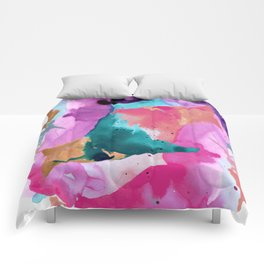 Heart of the Universe Comforters