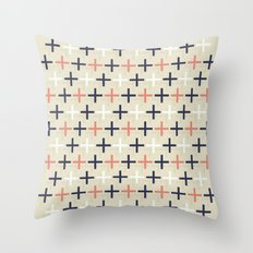 Midcentury Pattern 04 Throw Pillow