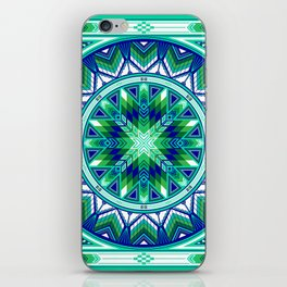 Sacred Places Green iPhone Skin