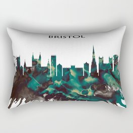 Bristol skyline Rectangular Pillow