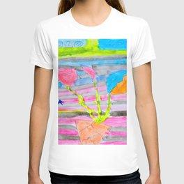 Yolo Love | Flower by Elisavet | #society6 T-shirt