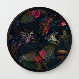 Fall in Love #buyart #floral Wall Clock