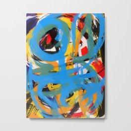 Abstraction of Joy Metal Print