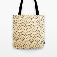 scales Tote Bags featuring scales by cavernsss