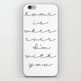 Home iPhone Skin