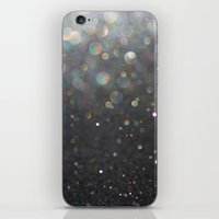 tolkien iPhone & iPod Skins featuring There Can Be No Light (Ombré Glitter Abstract) by soaring anchor designs
