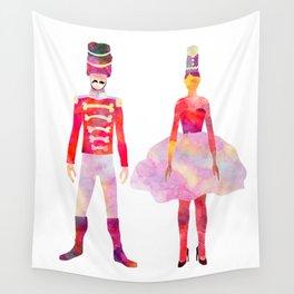 Nutcracker Ballet Wall Tapestry