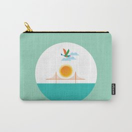 Sun and a bridge  Carry-All Pouch