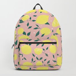 Squeeze a Lemon Backpack