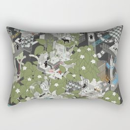 Aperture Science: All science, all the time Rectangular Pillow