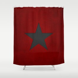 Winter Soldier Book Shower Curtain