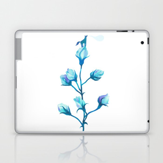 Baby Blue #2 Laptop & iPad Skin