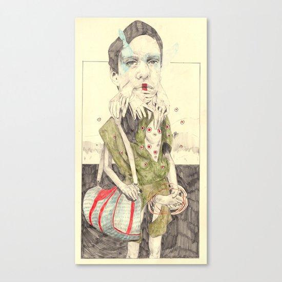 Figure(2) Canvas Print