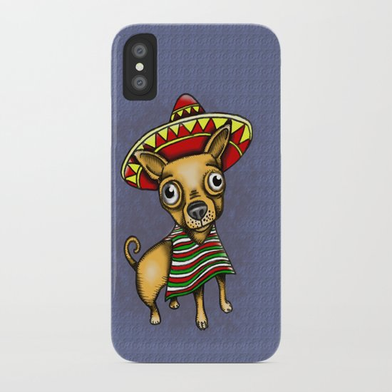 Mexican Chihuahua in Brown iPhone Case