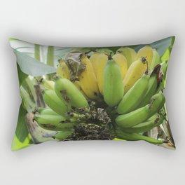 Going bananas Rectangular Pillow