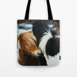 Winter Vow #society6 #home #tech Tote Bag