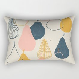 Pear with me Rectangular Pillow