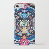 chakra iPhone & iPod Cases featuring Earth Chakra by The Art of Eric Carson