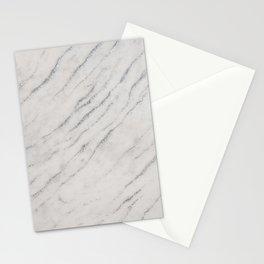 Marble Silver Glitter Glam #1 #shiny #gem #decor #art #society6 Stationery Cards