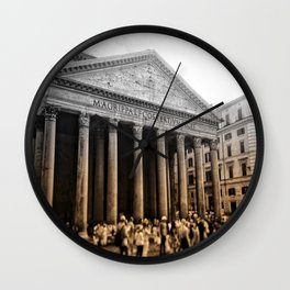 Agrippa built the Pantheon Wall Clock