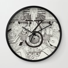 N0.3 Wall Clock