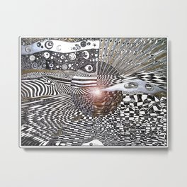 horizon of heaven Metal Print