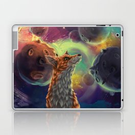 The Fox on the Planets Laptop & iPad Skin