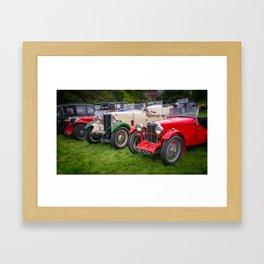 Classic Cars Framed Art Print