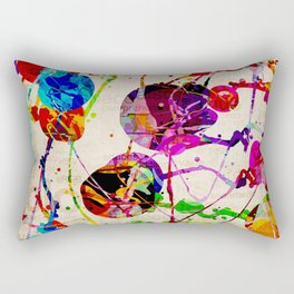 Abstract Expressionism 2 Rectangular Pillow