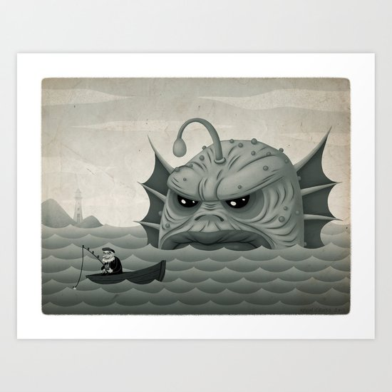 Old Salt - Revised Art Print