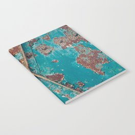 Teal and Rust Notebook