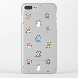 items please Clear iPhone Case